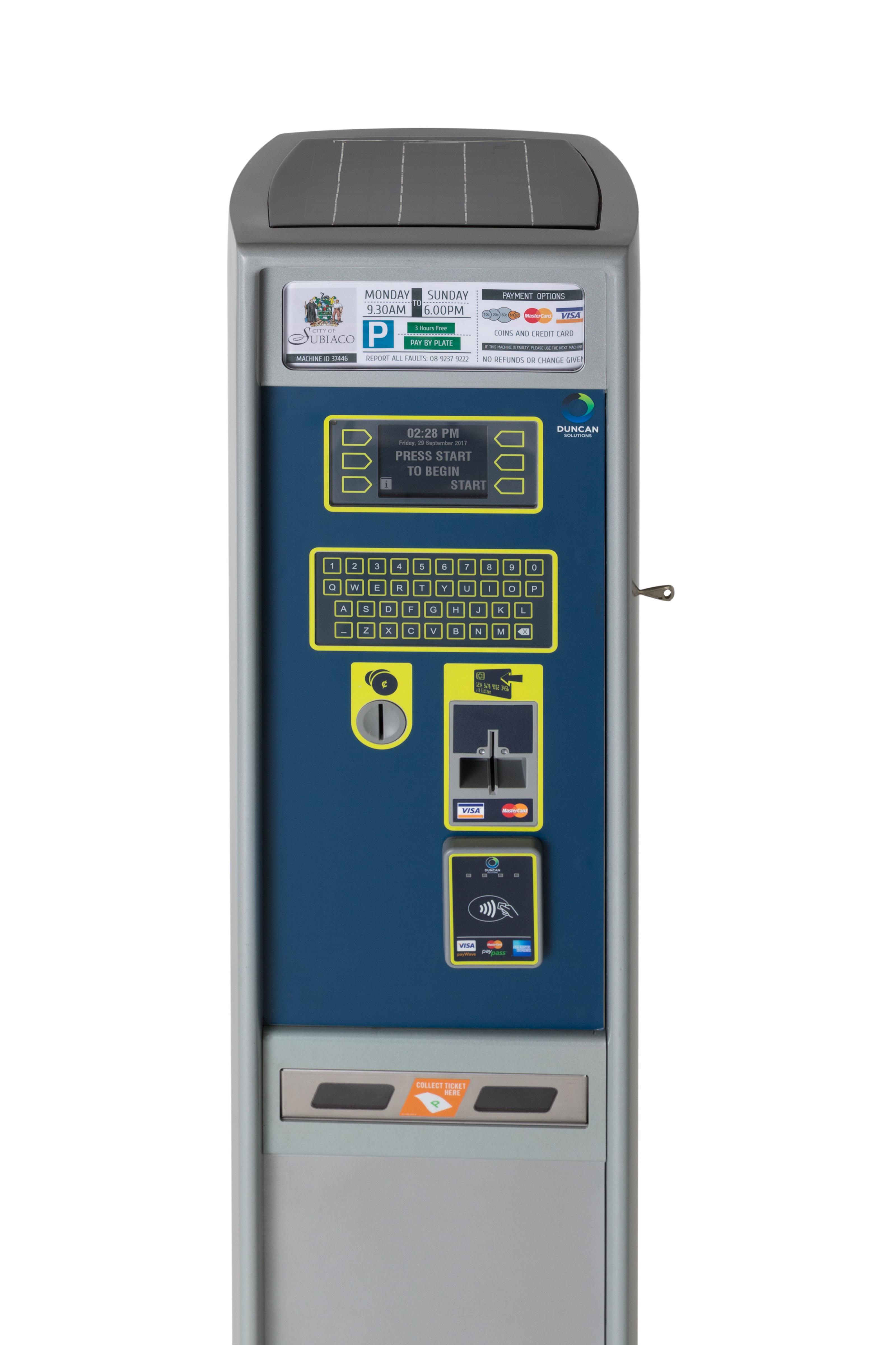 TX Multi-Space parking meter